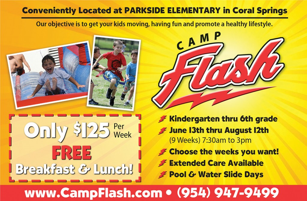 Camp Flash Ad
