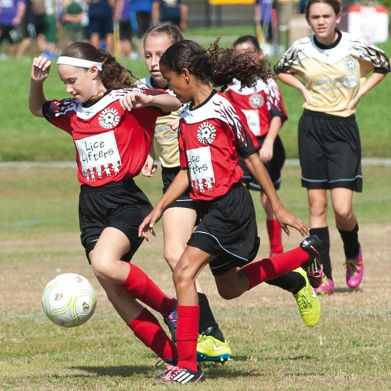 Parkland girls rec soccer