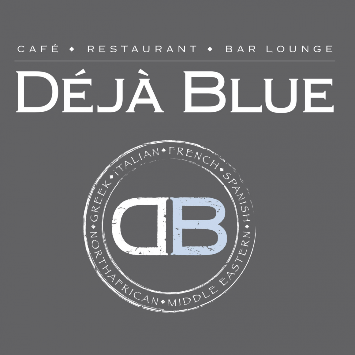 DÉJÀ BLUE Family-Focused Mediterranean Style Restaurant Parkland Florida
