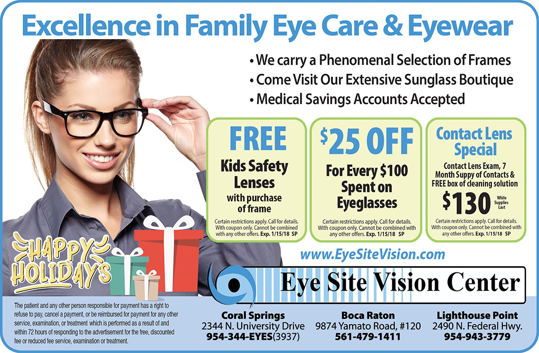 Dr. Goberville's Sight Savers' gift list: Eye Ste Vision Center