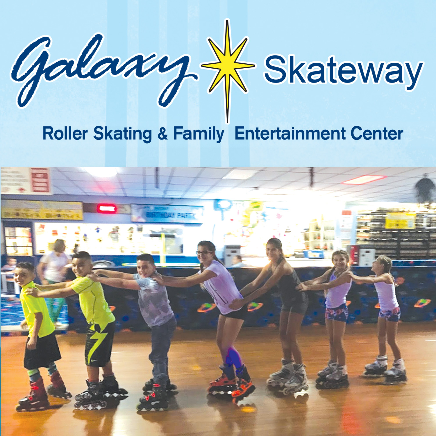 Fun is Always in Season…Galaxy Skateway