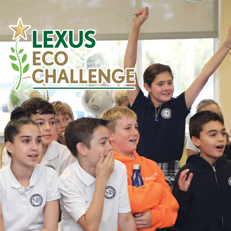 NORTH BROWARD PREPARATORY SCHOOL STUDENTS WIN $10,000 SCHOLARSHIP IN THE LEXUS ECO CHALLENGE AND ADVANCE TO NATIONAL COMPETITION