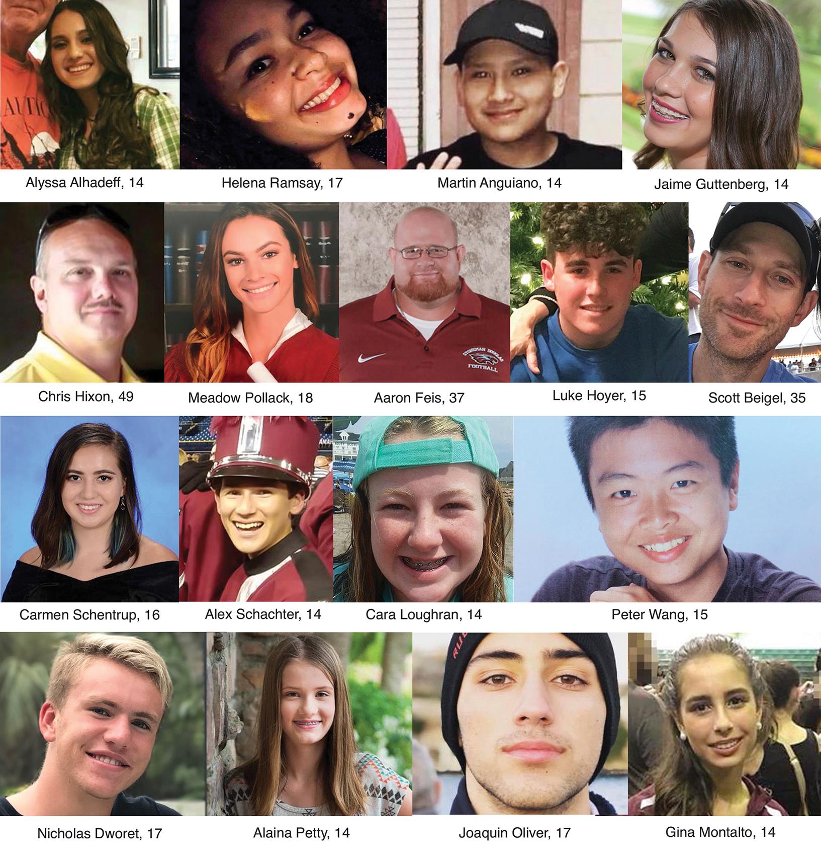 17 Douglas High School Victims