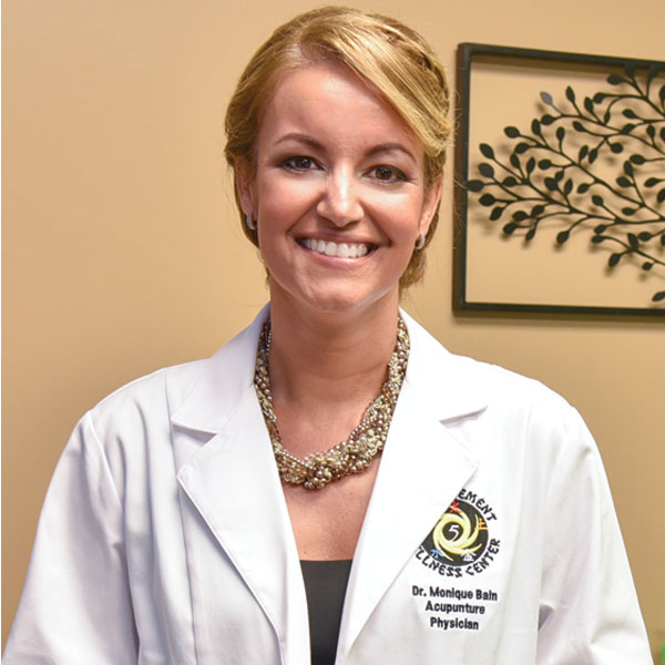 Monique Bain, acupuncture physician