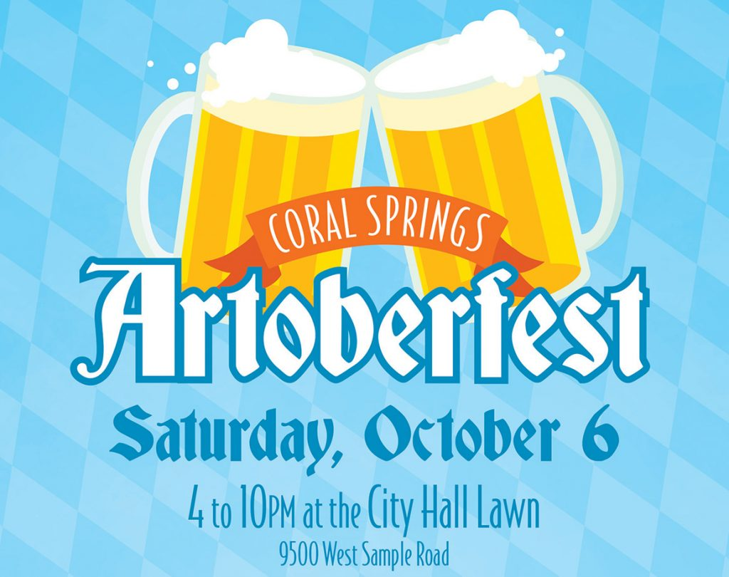 Artoberfest Returns October 6th to Downtown Coral Springs