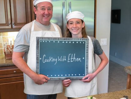 Cooking with Ethan