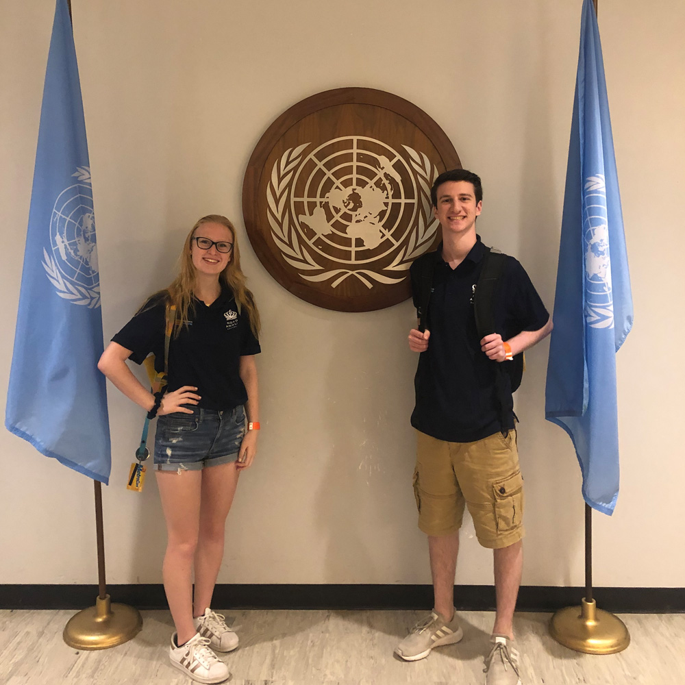 NBPS Students Participate in UNICEF Summit At United Nations Headquarters in NYC