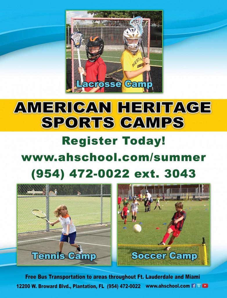 American Heritage Sport Camp ad