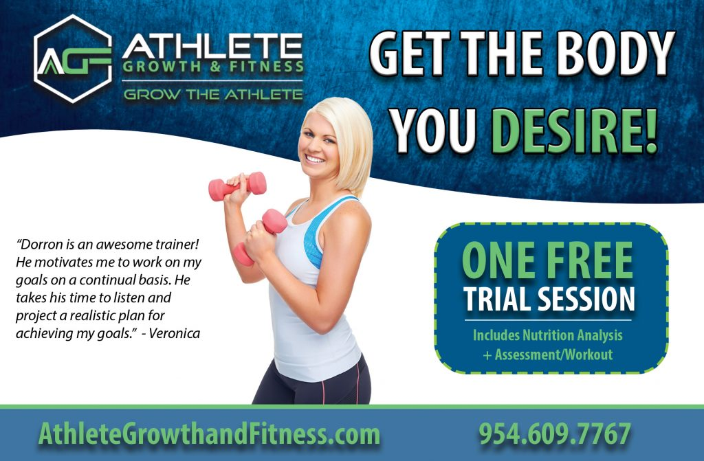 Athlete Growth and Fitness Ad