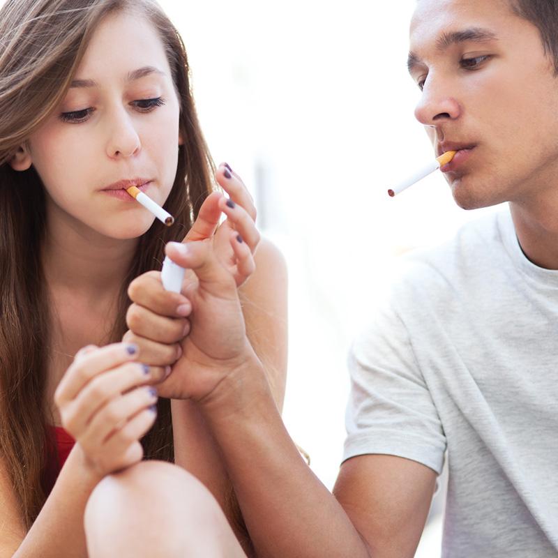 Teens Smoking in south florida