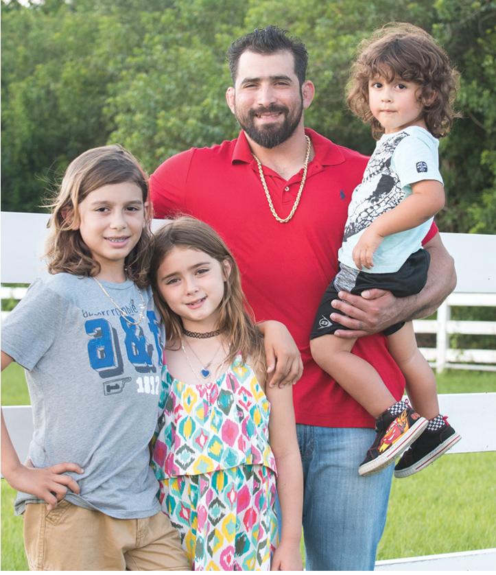Bryan Velasquez and family