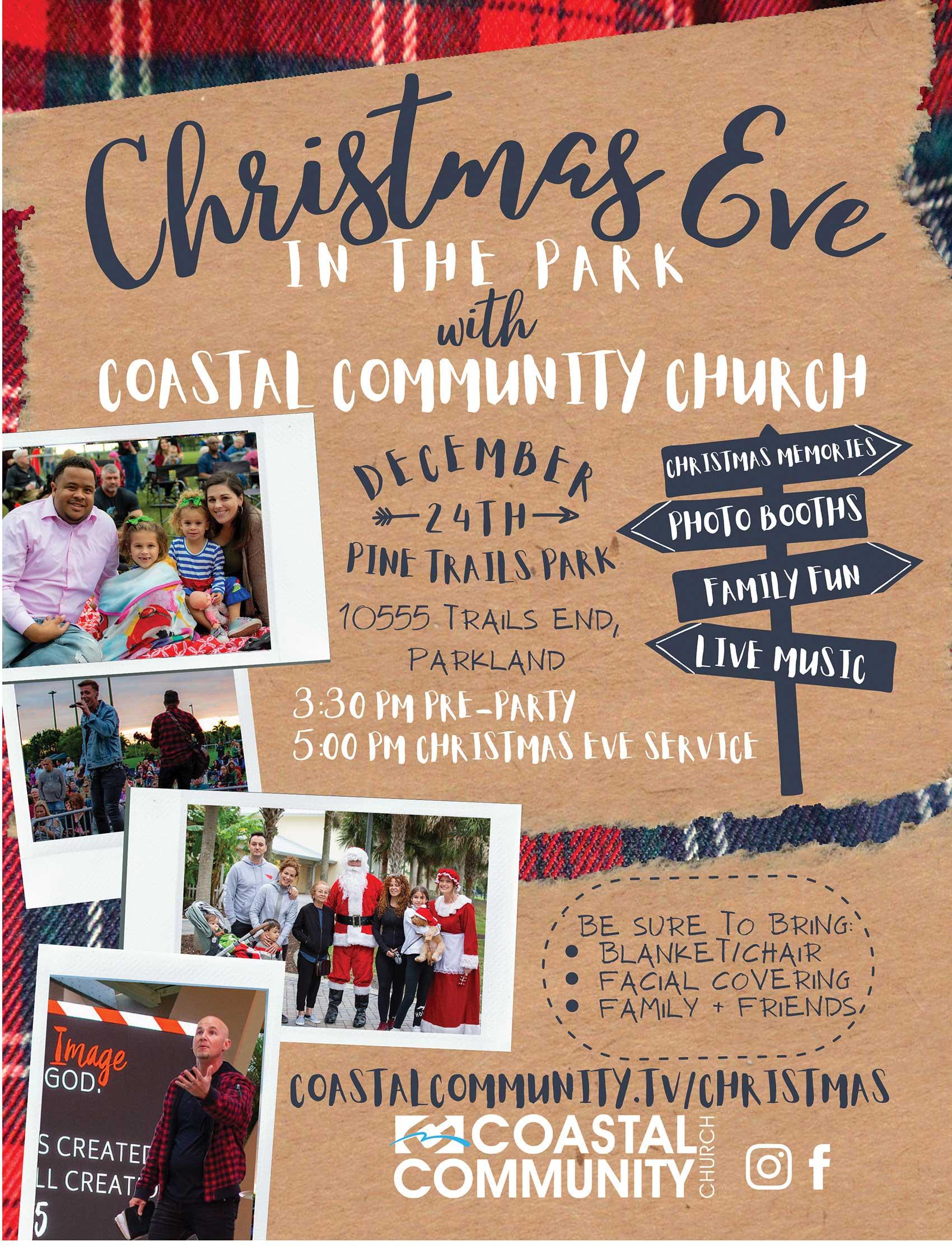 Coastal Community Church Christmas Eve