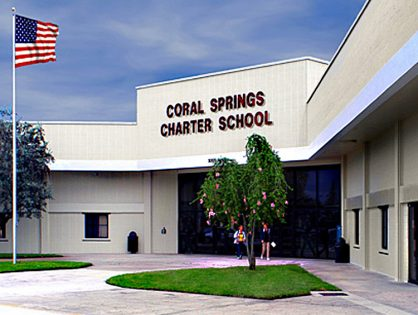 Coral Springs Charter School joins together with the  Community to deliver toys and supplies to homeless shelter